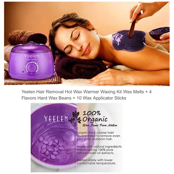 Yeelen Bath Hair Removal Hot Wax Warmer Waxing Kit Poshmark